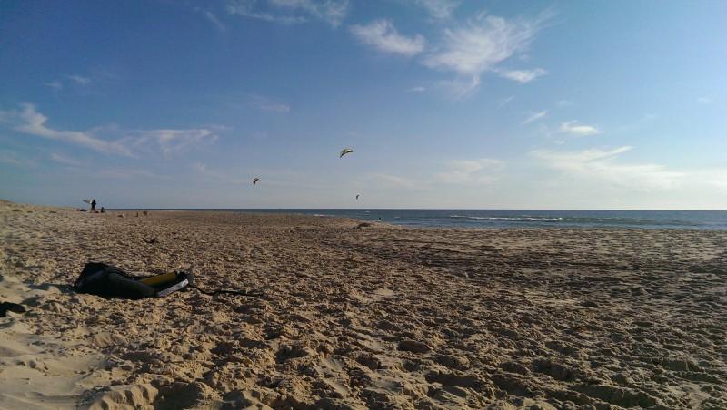 Wind report Le Porge - France (33) 2014-08-21 18:00:00