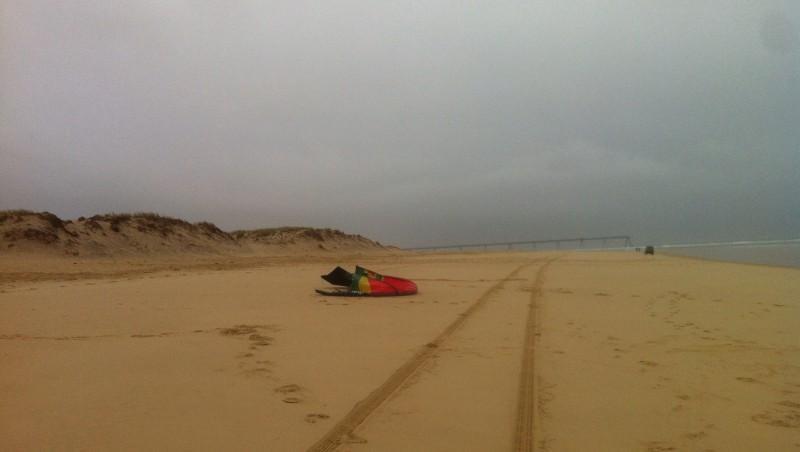 Wind report La Salie - France (33) 2014-08-26 10:00:00