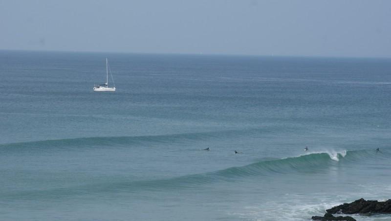 Surf report Quiberon - Port Rhu - France (56) 2014-09-14 14:00:00