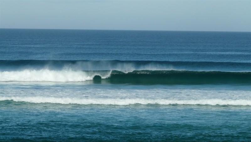 Surf report Mimizan - Plage Garluche - France (40) 2014-09-17 10:00:00