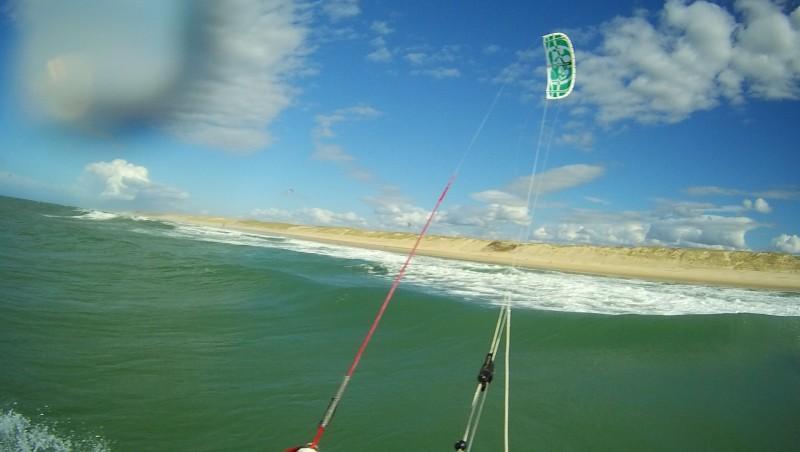 Wind report Le Porge - France (33) 2014-10-12 11:00:00