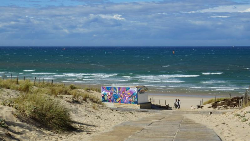 Wind report Le Porge - France (33) 2014-10-12 13:00:00