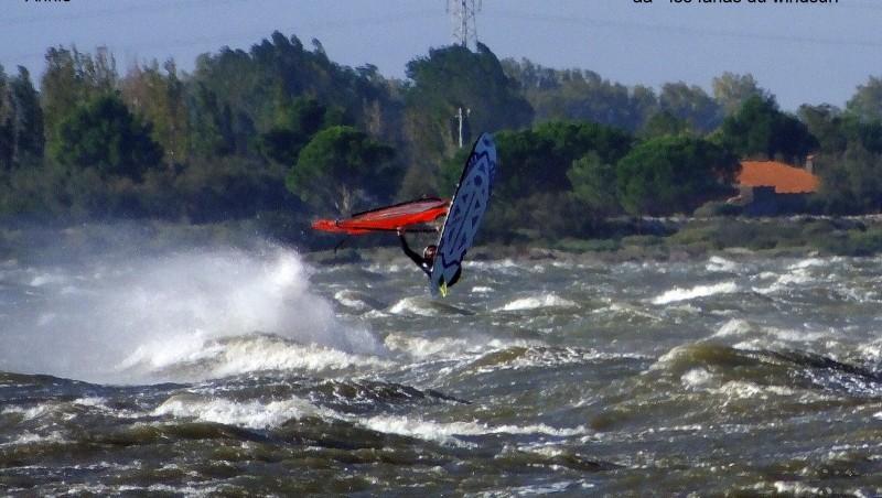 Wind report Le Barcarès - Cap Coudalère  - France (66) 2014-10-22 12:00:00
