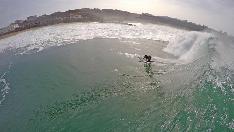 Surf report Anglet Surf Club - France (64) 2014-10-20 12:00:00