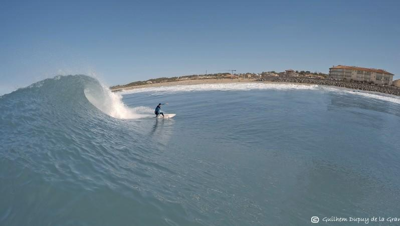 Surf report Anglet Sables d'Or - France (64) 2014-10-23 12:00:00