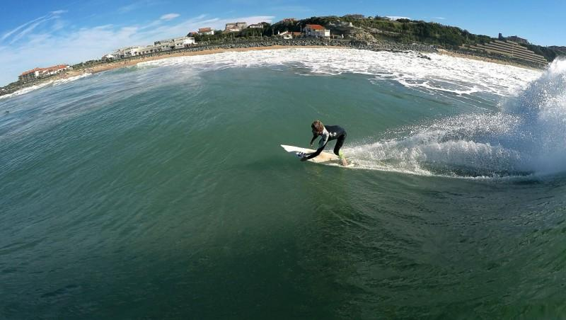 Surf report Anglet Surf Club - France (64) 2014-10-18 12:00:00