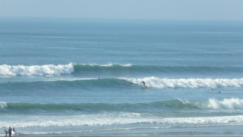 Surf report Le Porge - France (33) 2014-10-29 15:00:00