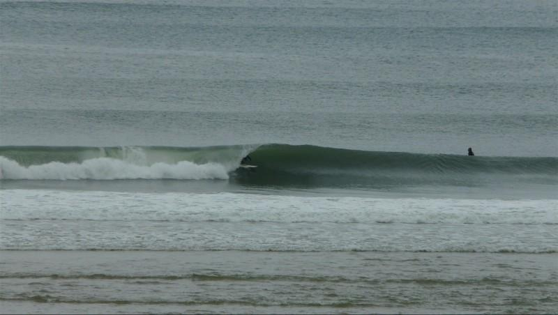 Surf report Contis Plage - France (40) 2014-10-11 14:00:00
