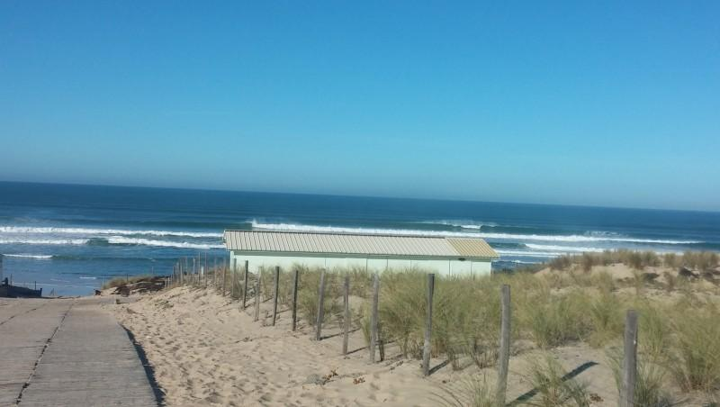 Surf report Le Porge - France (33) 2014-10-27 12:00:00