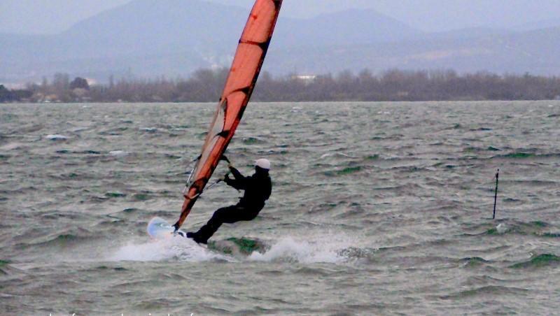 Wind report Le Barcarès - Cap Coudalère  - France (66) 2014-12-15 12:00:00