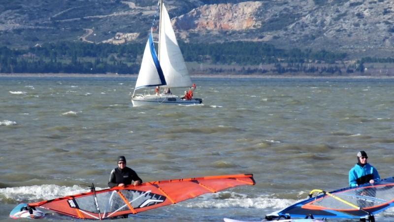 Wind report Le Barcarès - Cap Coudalère  - France (66) 2014-12-19 12:00:00