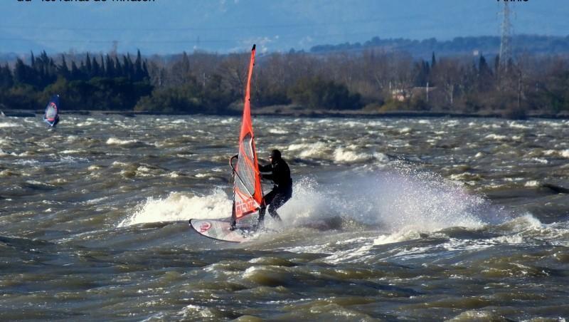 Wind report Le Barcarès - Cap Coudalère  - France (66) 2014-12-21 12:00:00