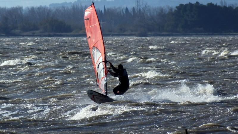 wind report Le Barcarès - Cap Coudalère  - France (66) 2014-12-29 12:00:00