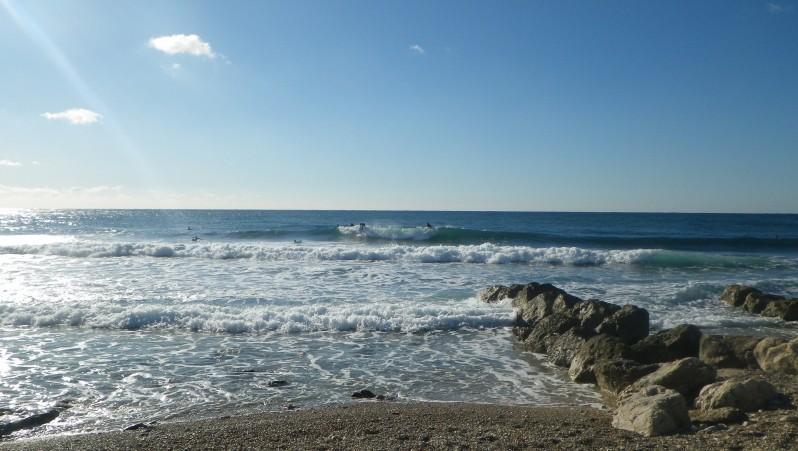 Surf report Sausset les Pins - Plage du Port - France (13) 2015-01-17 11:40:00