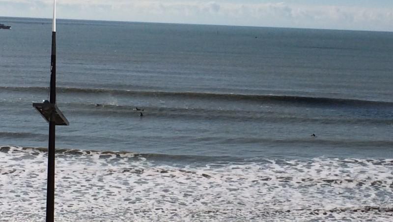Surf report Les Sables-d'Olonne - Grands Cheveaux - France (85) 2015-02-15 12:30:00