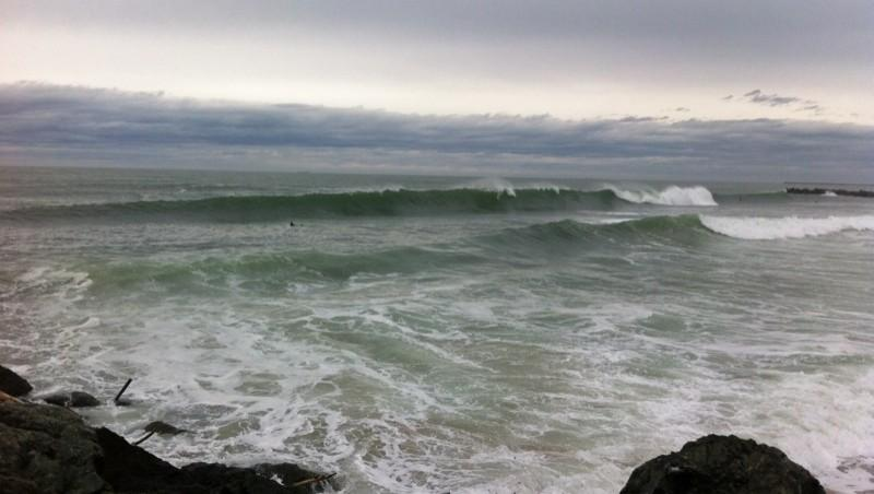 Surf report Anglet Sables d'Or - France (64) 2015-05-01 17:11:00