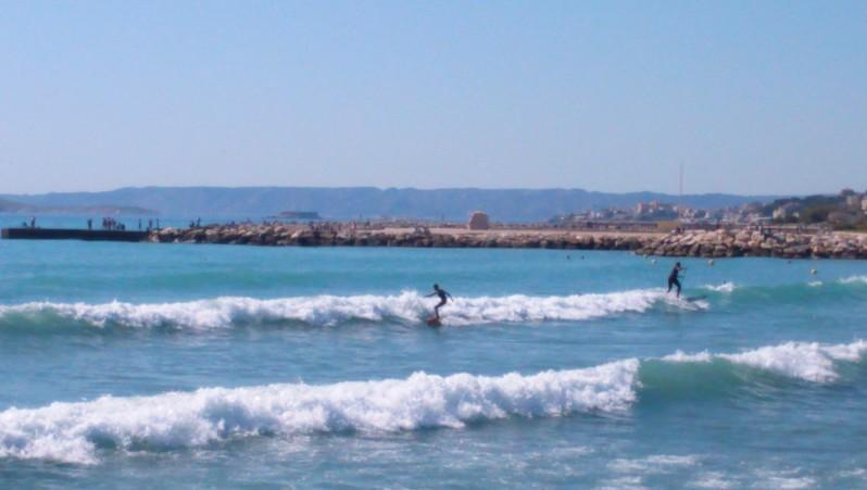 Surf report Le Prado - France (13) 2015-05-17 16:45:00