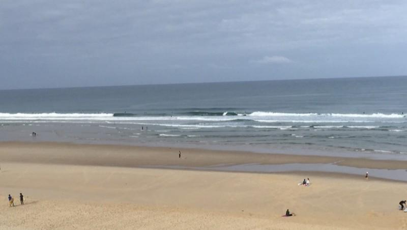 Surf report Biscarrosse Plage - France (40) 2015-07-12 08:00:00