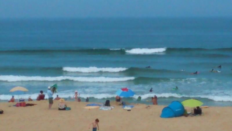 Surf report Vieux Boucau - France (40) 2015-07-20 13:00:00