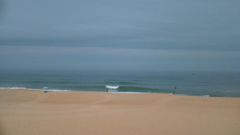 Surf report Vieux Boucau - France (40) 2015-07-24 09:45:00