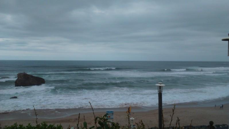 Surf report Milady - France (64) 2015-08-04 18:10:00