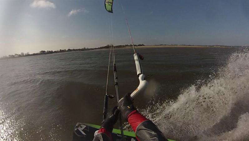Wind report La Hume - France (33) 2015-03-22 08:00:00