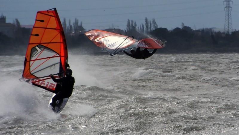 Wind report Le Barcarès - Cap Coudalère  - France (66) 2015-03-25 12:00:00