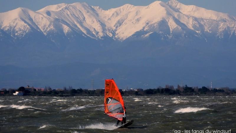 Wind report Le Barcarès - Cap Coudalère  - France (66) 2015-03-26 09:00:00