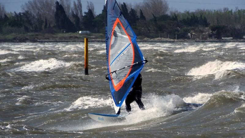 Wind report Le Barcarès - Cap Coudalère  - France (66) 2015-03-27 12:00:00
