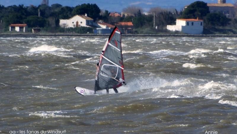 Wind report Le Barcarès - Cap Coudalère  - France (66) 2015-03-28 12:00:00