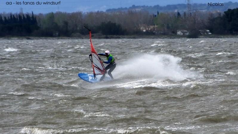 Wind report Le Barcarès - Cap Coudalère  - France (66) 2015-03-30 12:00:00