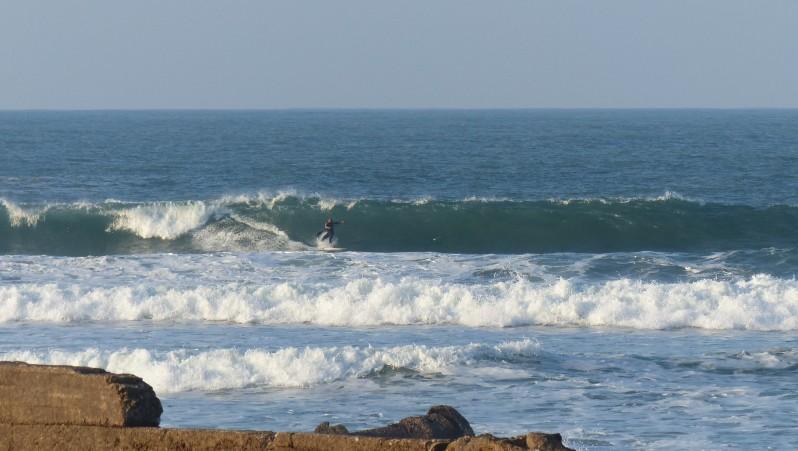 Surf report La Bobine - Maroc (MA) 2015-04-01 12:00:00