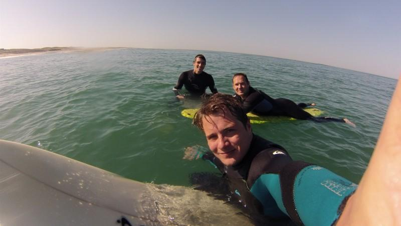 Surf report Le Grand Crohot - France (33) 2015-04-14 09:00:00