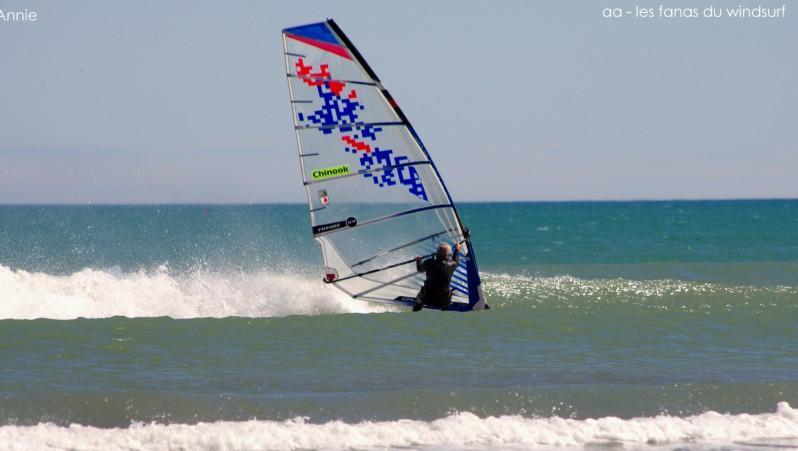 Wind report Port-la-Nouvelle - France (11) 2015-04-20 12:00:00