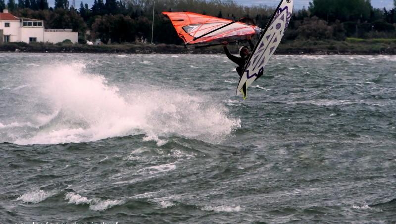 Wind report Le Barcarès - Cap Coudalère  - France (66) 2015-04-27 12:00:00