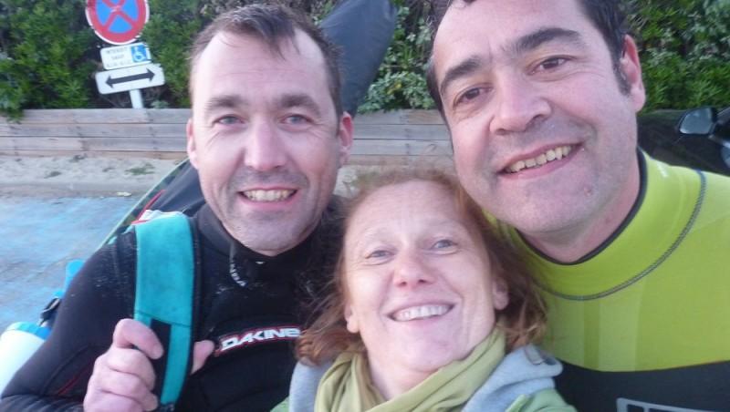 Wind report Biscarrosse Plage - France (40) 2015-04-27 18:00:00