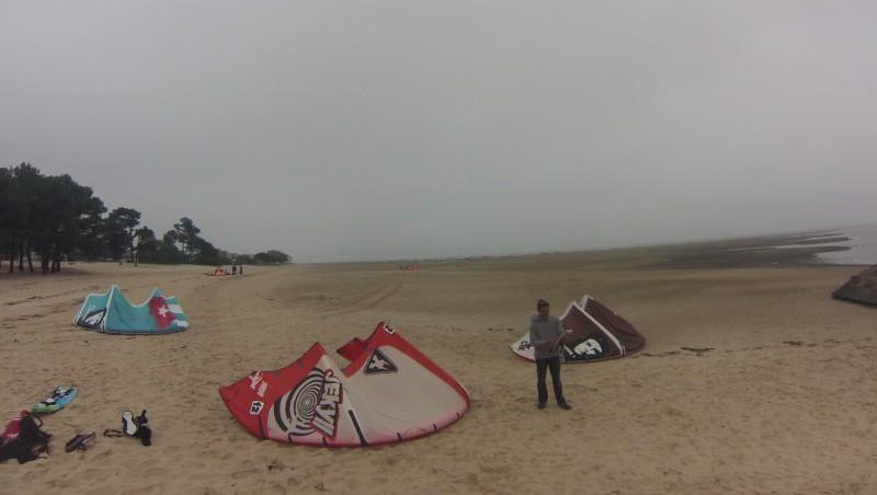 Wind report Andernos - Le Betey - France (33) 2015-05-13 11:00:00