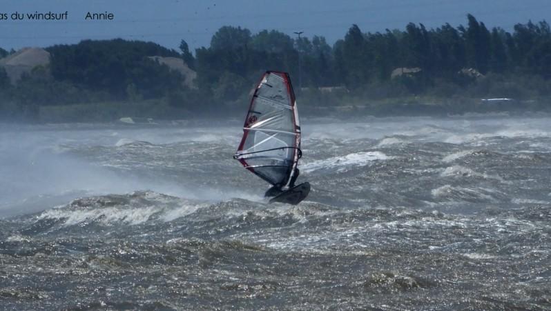 Wind report Le Barcarès - Cap Coudalère  - France (66) 2015-05-16 12:00:00