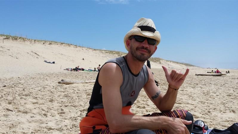 Wind report Le Porge - France (33) 2015-05-23 14:00:00
