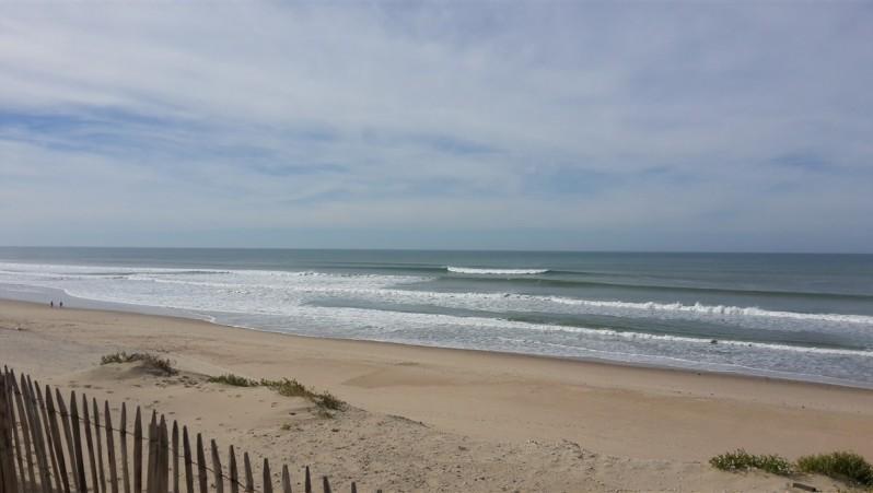 Surf report Le Pin Sec - France (33) 2015-10-10 13:00:00