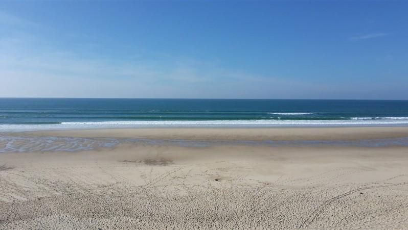 Surf report Le Grand Crohot - France (33) 2015-10-16 15:00:00