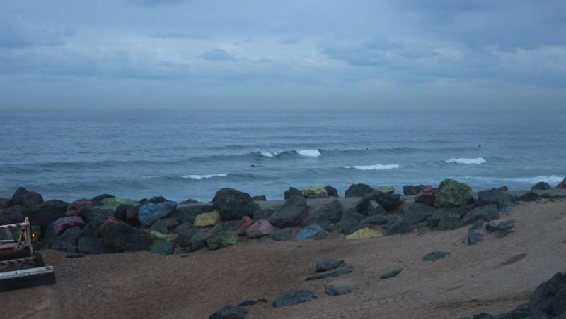 Surf report Anglet Sables d'Or - France (64) 2015-10-22 09:00:00