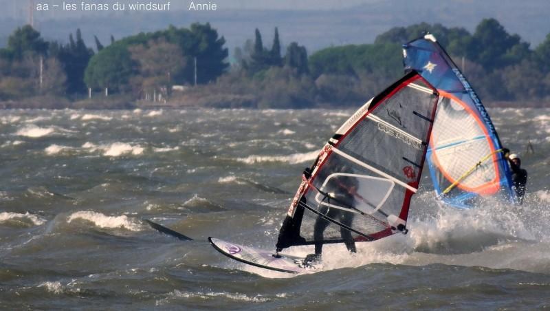 Wind report Le Barcarès - Cap Coudalère  - France (66) 2015-10-21 17:00:00
