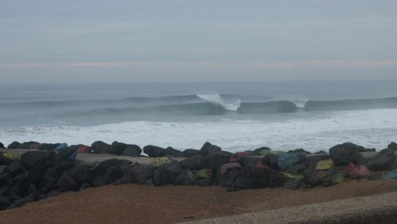 Surf report Anglet Sables d'Or - France (64) 2015-10-23 09:00:00
