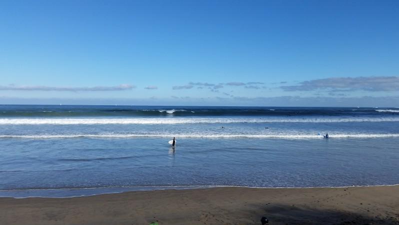 Surf report Hendaye - France (64) 2015-10-23 11:00:00