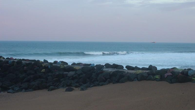 Surf report Anglet Surf Club - France (64) 2015-10-24 09:00:00