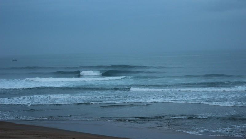 Surf report Anglet Surf Club - France (64) 2015-10-25 09:00:00