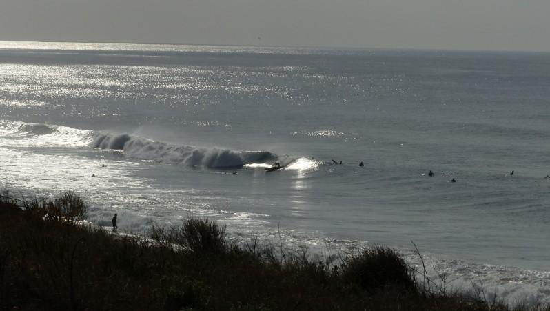Surf report Contis Plage - France (40) 2015-10-25 14:00:00