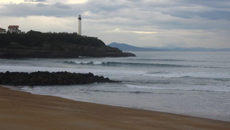 Surf report Anglet VVF - France (64) 2015-10-27 09:00:00