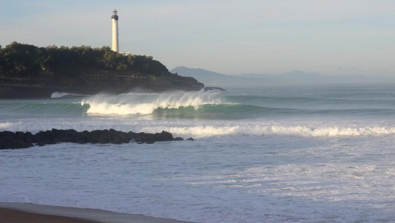 Surf report Anglet VVF - France (64) 2015-10-30 09:00:00